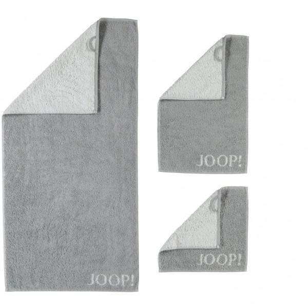 Joop! Frottier Handtuch Duschtuch Gästetuch 1600 Classic 76 Silber Grau
